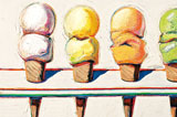 Behind The Scenes With Wayne Thiebaud: Line