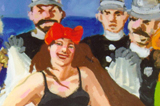 Wendy Sharpe Paints the Life of Annette Kellerman